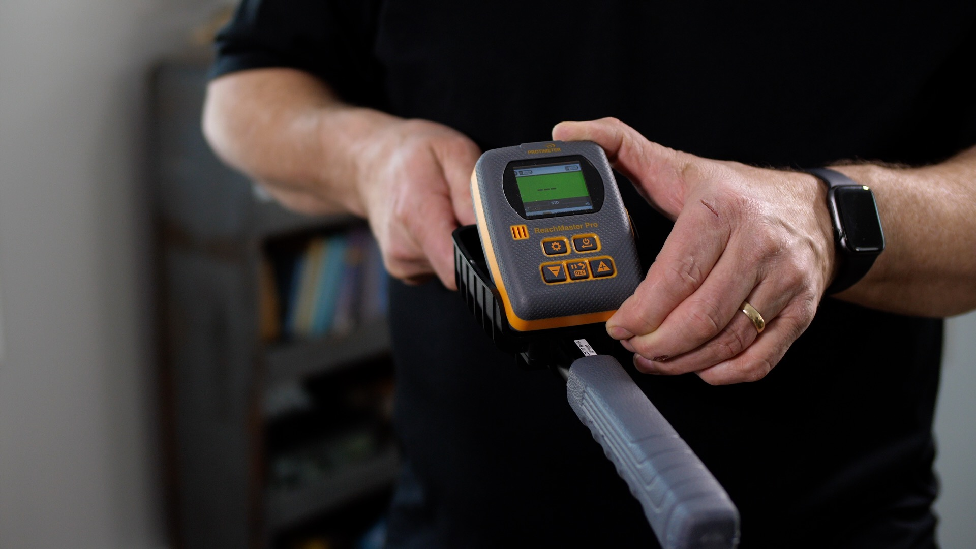 Home Inspection Training: Using a Moisture Meter