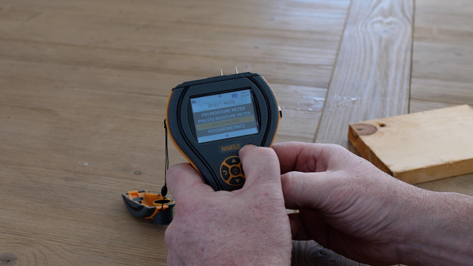 Hurricane Damage Restoration & Moisture Meter Preparation